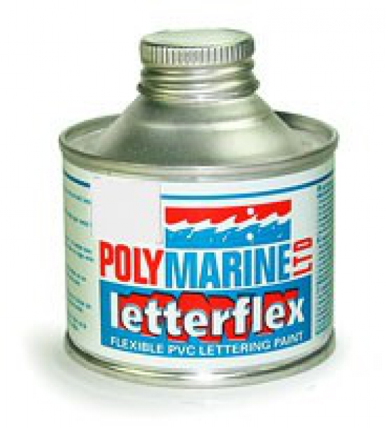 Letterflex PVC Paint 125ml WHITE