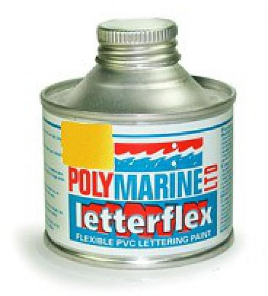 Letterflex PVC Paint 125ml YELLOW