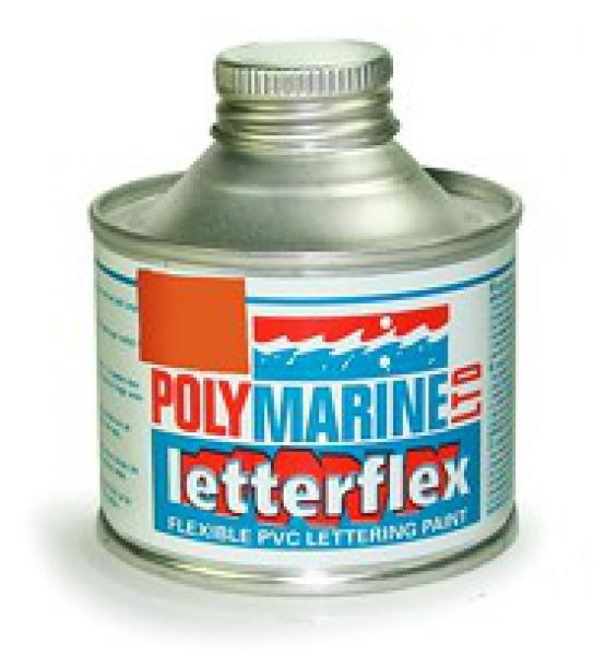 Letterflex PVC Paint 125ml ORANGE