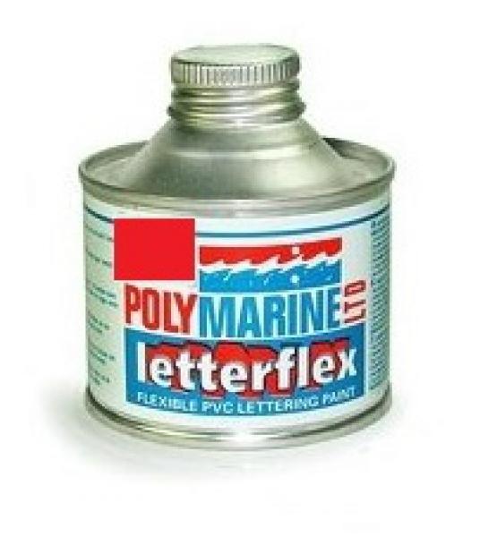 Letterflex PVC Paint 125ml RED
