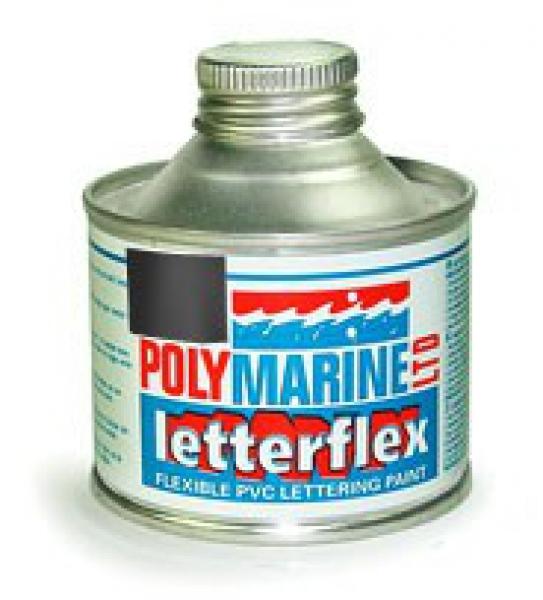 Letterflex PVC Paint 125ml BLACK