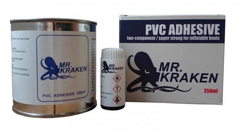 Profesjonalny 2-składnikowy klej PVC 250ml